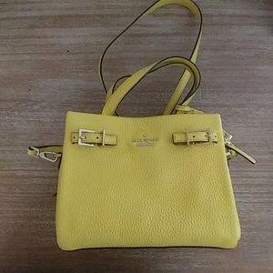 Kate spade yellow purse